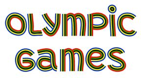 Jeux Olympiques Photo stock