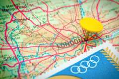 Jeux Olympiques 2012 de Londres Photographie stock libre de droits