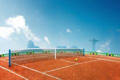 Jeux Olympiques de tennis Photo stock