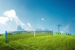 Jeux Olympiques de tennis Photo libre de droits