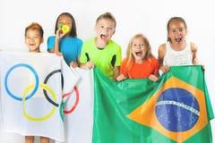 Jeux Olympiques Rio de Janeiro Brésil 2016 Images libres de droits