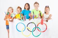 Jeux Olympiques Rio de Janeiro Brésil 2016 Images stock