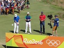 Jeux Olympiques Rio 2016 - golf Photo libre de droits