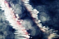Jeux sous-marins abstraits avec les bulles et la lumière Photos libres de droits