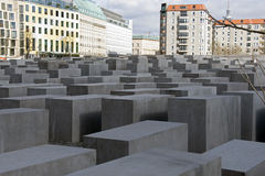 Jew monument berlin Royalty Free Stock Photography