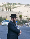 Jew in old Jerusalem Royalty Free Stock Photography