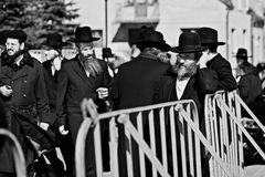 Orthodox Jews in Poland Royalty Free Stock Photos