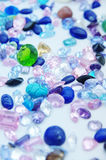 Jewel. Precious jewel stones in an outlay royalty free stock photo