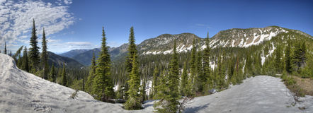 Jewel Basin panorama Royalty Free Stock Photo
