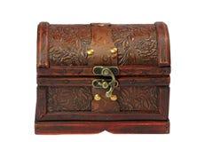 Jewel box. Close up of jewel case on white background stock photo