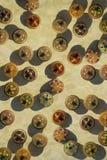 Jewel box circles Royalty Free Stock Images
