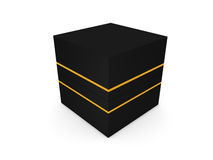 Jewel box  on white background 3D rendering Royalty Free Stock Photography