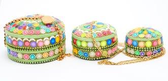 Jewel boxes. Stock Photo