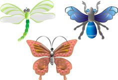 Jewel Bugs. vector Stock Photos