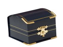 Jewel case. Isolated on white background Royalty Free Stock Image
