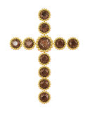 Jewel cross royalty free stock images