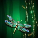 Jewel dragonfly Stock Photo