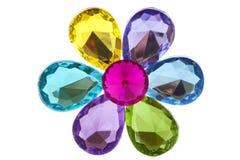 Jewel flower stock photo