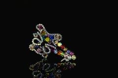 Jewel hairpin Royalty Free Stock Photo