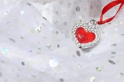 Jewel heart shaped Royalty Free Stock Photography