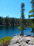 Jewel Lake. Caribou Wilderness, Northern California Stock Images