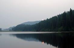 Jewel Lake morning Royalty Free Stock Images