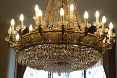 Jewel lamp Royalty Free Stock Images
