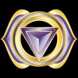 Jewel Medallion like Hindu Chakra of Anja Royalty Free Stock Image