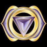 Jewel Medallion like Hindu Chakra of Anja Royalty Free Stock Image