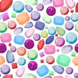 Jewel pattern Stock Photography