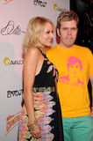 Jewel and Perez Hilton on the red carpet. Royalty Free Stock Photography