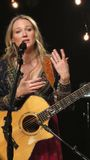 Jewel Performed Some Of Her Greatest Hits For iHeartRadio Live In New York Stock Photos