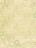 Jewel Print Faint on Cream Ribbed Paper Royalty Free Stock Photography