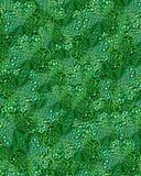 Jewel shamrock background. Bejewelled shamrock abstract pattern background Stock Images