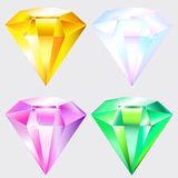 Jewel shiny gem Royalty Free Stock Image