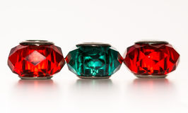Jeweled шарики стоковая фотография