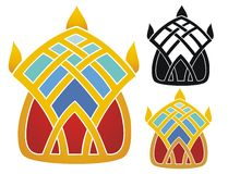 Jeweled crown Royalty Free Stock Image