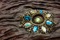 Jeweled Fabric Royalty Free Stock Photo