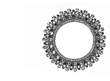Jeweled frame Royalty Free Stock Images