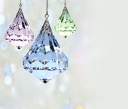 Jeweled ornaments Royalty Free Stock Photography