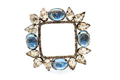 Jeweled photo frame Royalty Free Stock Photo