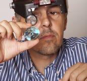 Αρσενικό jeweler Στοκ εικόνα με δικαίωμα ελεύθερης χρήσης
