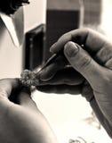 The jeweler Royalty Free Stock Photos