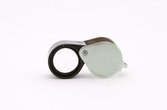 Jeweler's loupe Royalty Free Stock Images