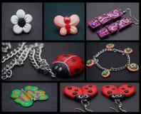 Jeweleries fabriqué à la main photo stock