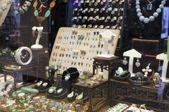 jewelery人存储wempe妇女 库存图片