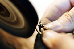 Jewelery擦亮的圆环 图库摄影