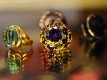 Jewelery背景 库存图片