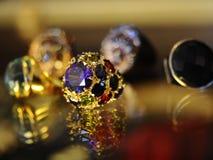 Jewelery背景 免版税库存图片
