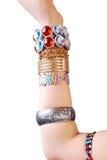jewelery χεριών Στοκ εικόνες με δικαίωμα ελεύθερης χρήσης